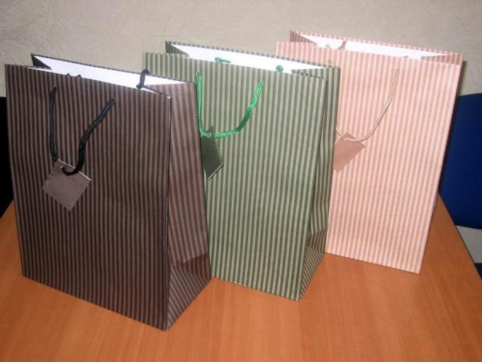 Как сделать подарочный пакет  оригами 53