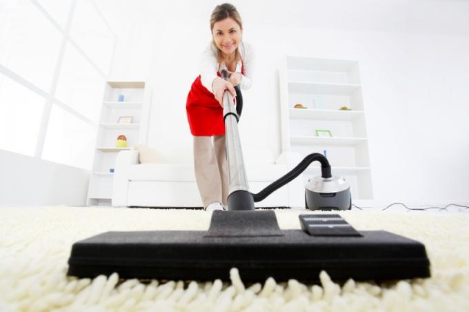 Как чистить коврики