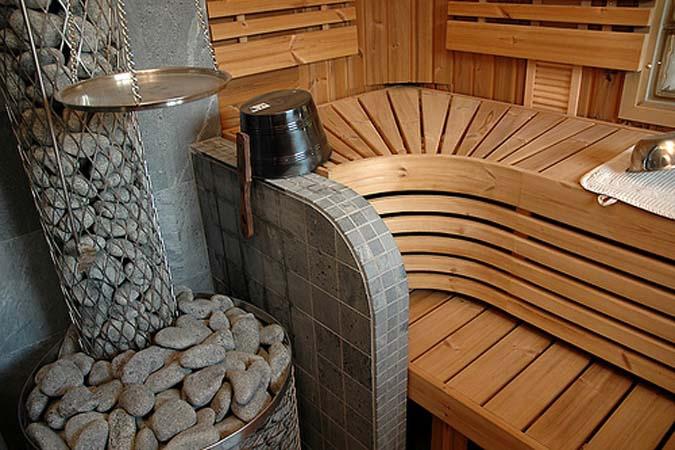 Как построить сауну в доме