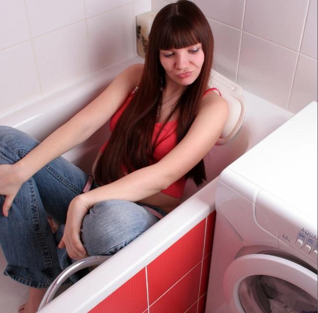 Как выставить стиральную машину