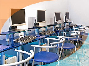 An Internet cafe will bring a library of additional income.