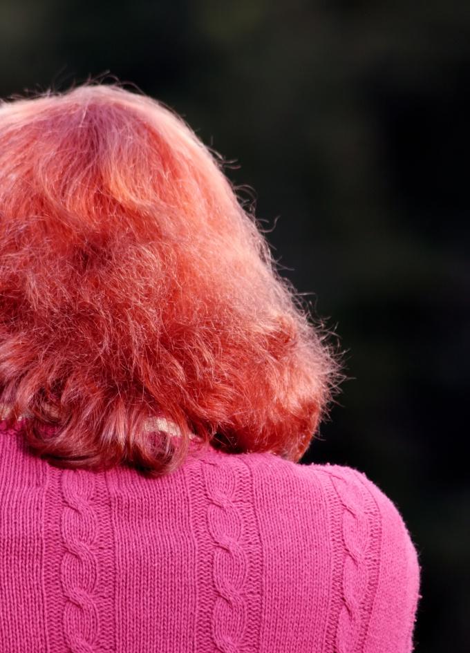Рыжий пигмент волоса с трудом поддается осветлению.