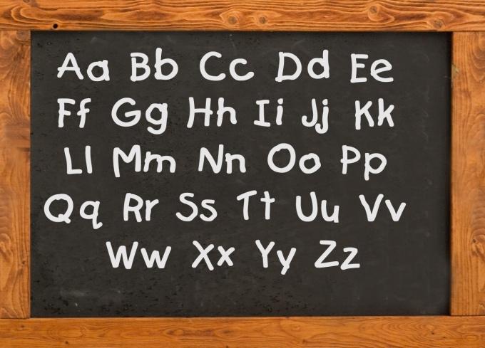 Как читать английские буквы