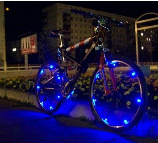 Как сделать подсветку велосипеда