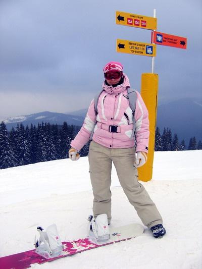 Как определить размер сноуборда