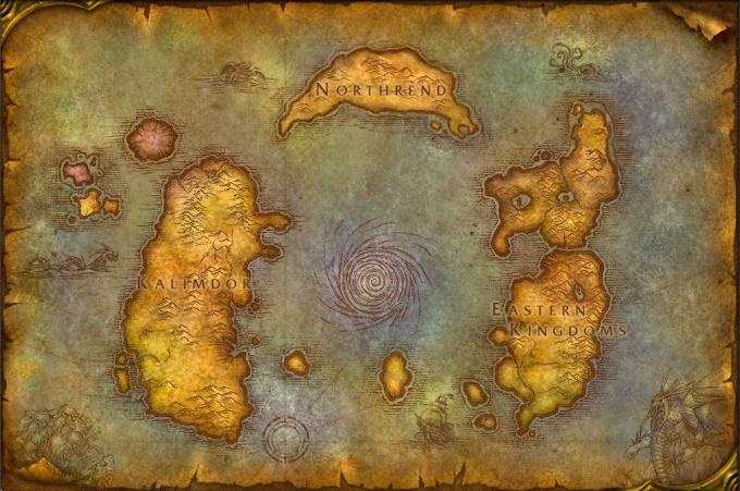 Как сделать карту World of Warcraft