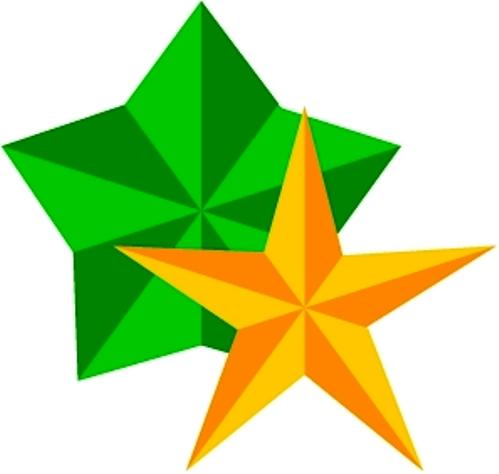 Как вырезать звёздочку