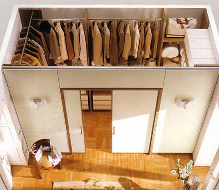 Как оборудовать гардеробную