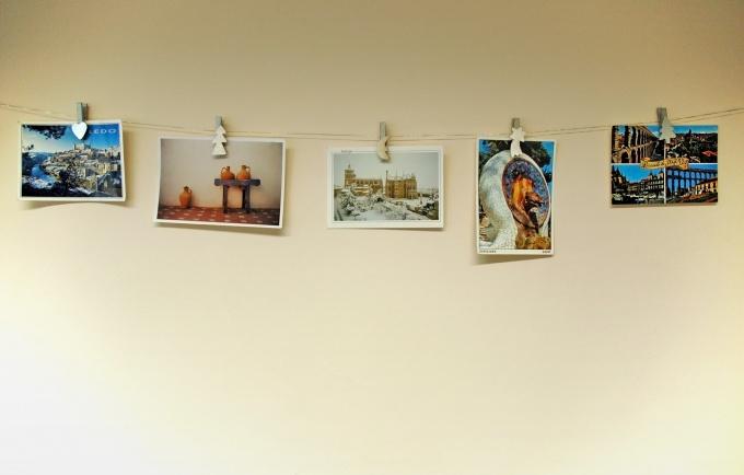 Как разместить фотографии на стенах