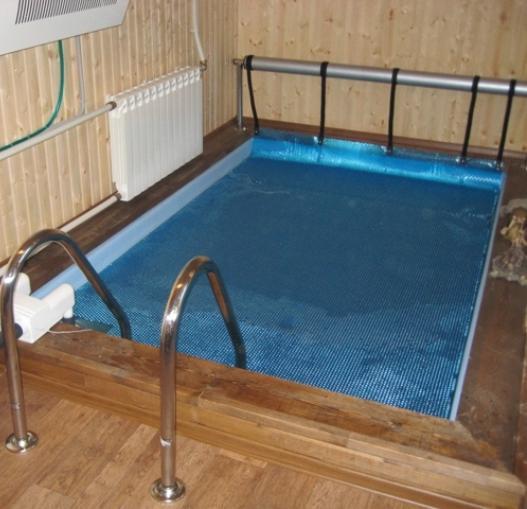 Как построить бассейн в сауне самому