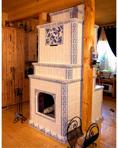How to make stove fireplace