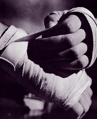Как мотать бинты в боксе