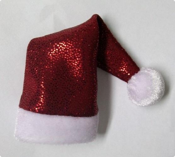 Как сделать шапку Деда Мороза