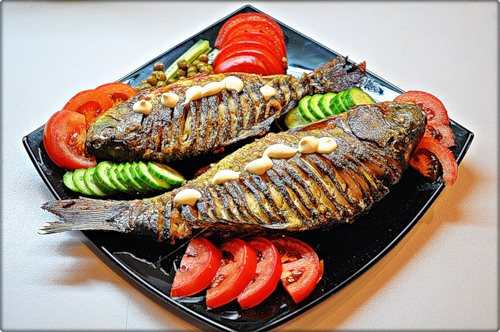 How to fry fish in the oven