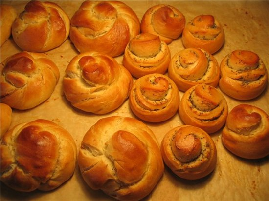 Как приготовить сдобные булочки