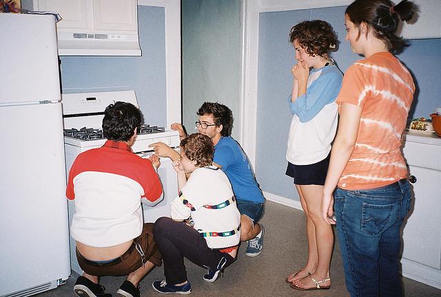 Как определить температуру в газовой духовке
