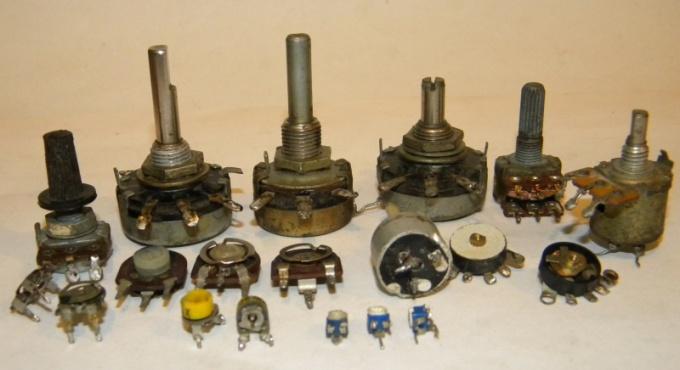 Как подключить переменный резистор