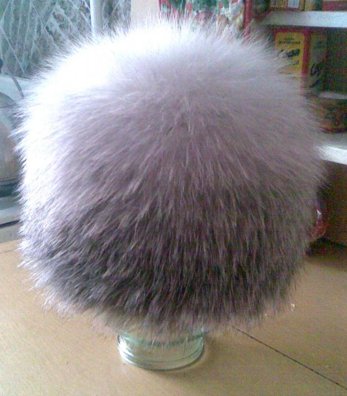 Как хранить шапку из чернобурки