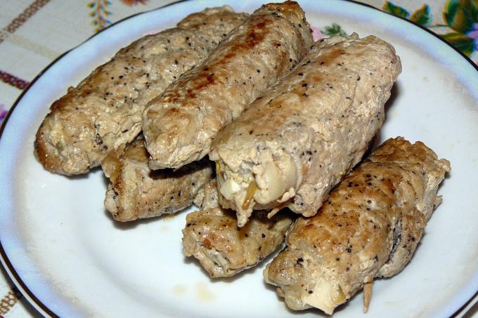 Блюдо мясные пальчики рецепт