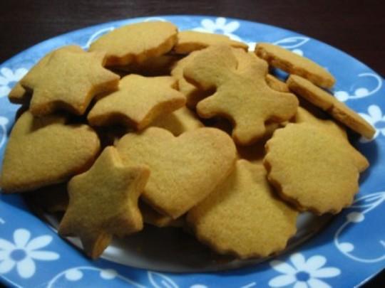 How to bake shortbread cookies