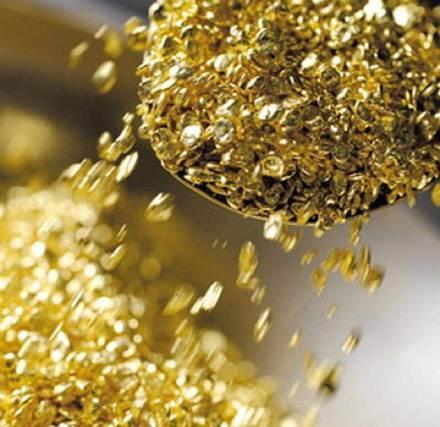 Как сделать золото