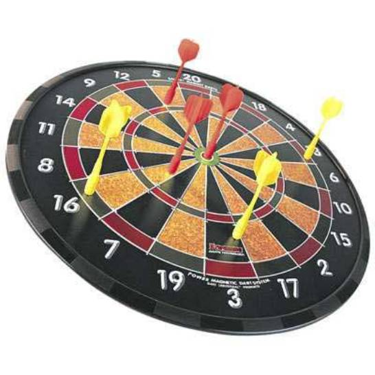 How to make a dartboard at home