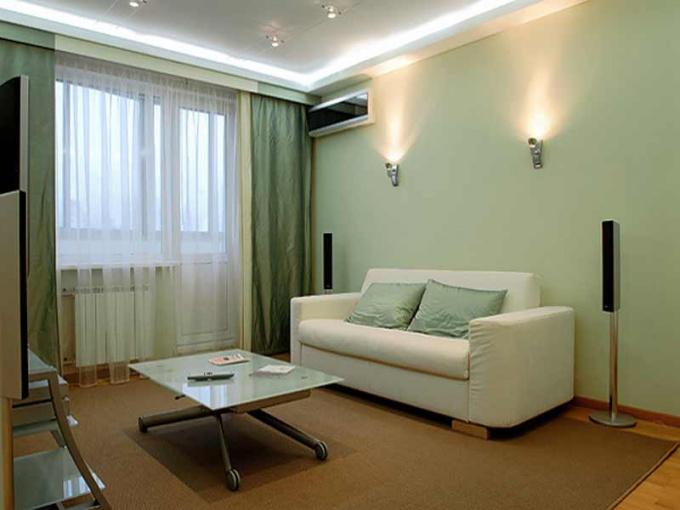 Как разместить мебель в однокомнатной квартире