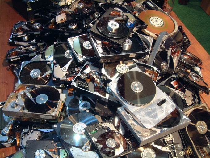 Как разбить диск на логические диски