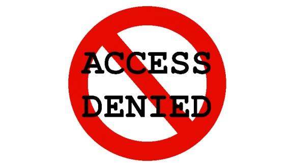 Как открывать доступ если его закрыли