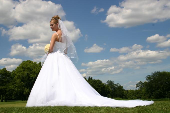 How to attach veil
