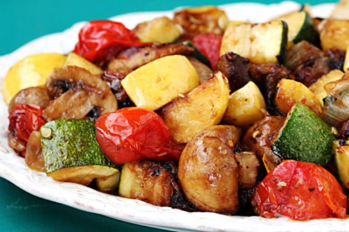 How to cook grilled vegetables