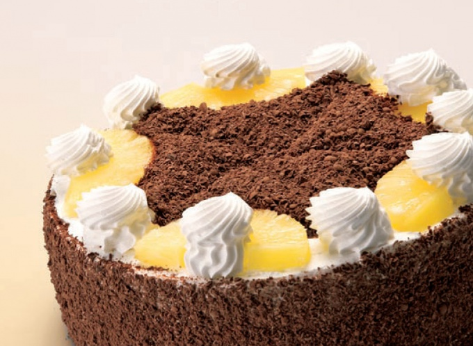 Как приготовить торт со сливками