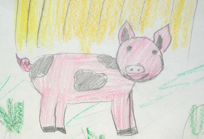 Как нарисовать <strong>свинью</strong>