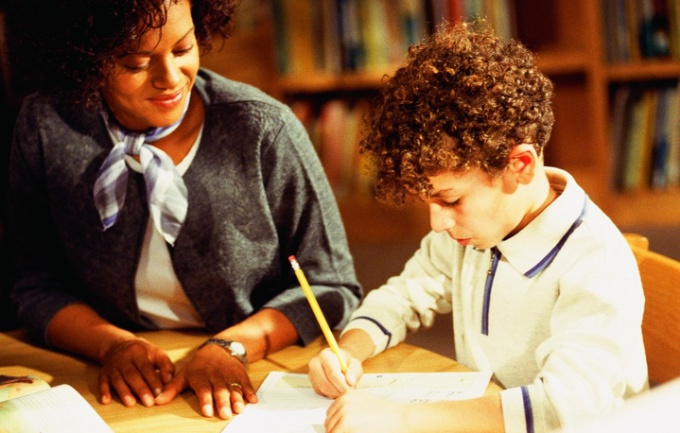 Как научить ребёнка самому делать уроки