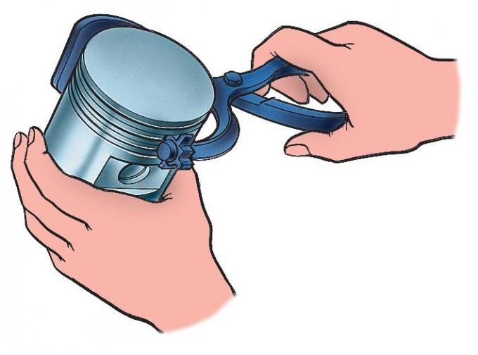 Как поменять поршневые кольца