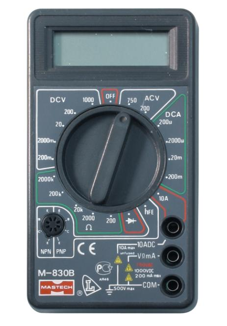 How to measure resistance with a multimeter