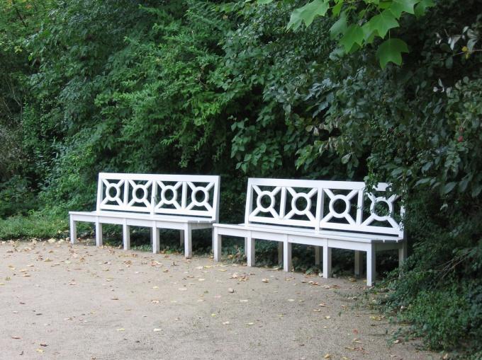 Как нарисовать скамейку