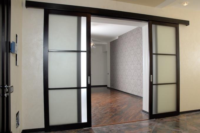 Как сделать своими руками раздвижные двери