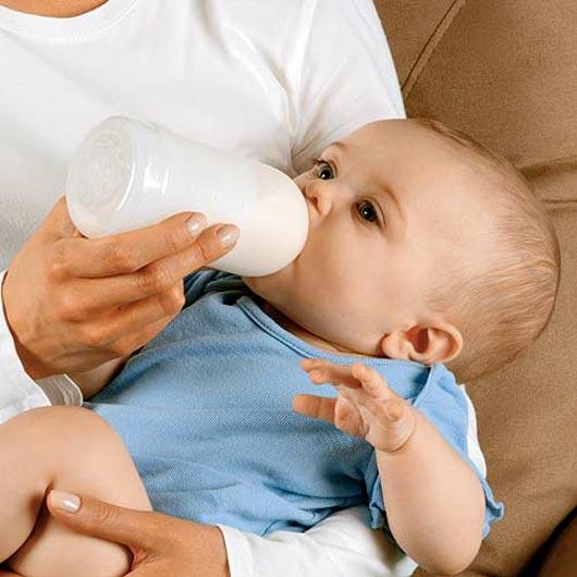 ❶ Как приучить ребенка к молоку