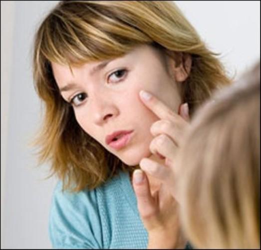 Как избавиться от сыпи на лице