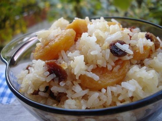 Dessert risotto - delicious dish