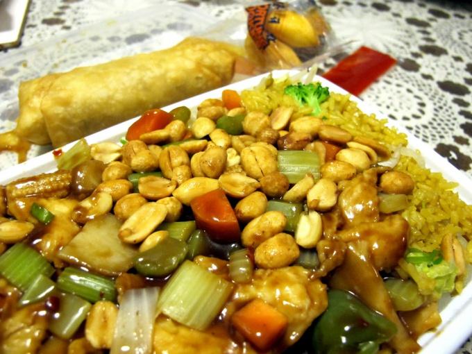 Китайский салат