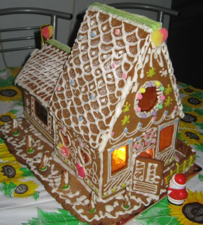 Как приготовить пряничный домик