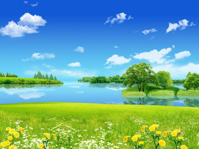 Как писать пейзаж