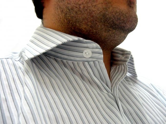 Накрахмаленная одежда смотрится нарядно