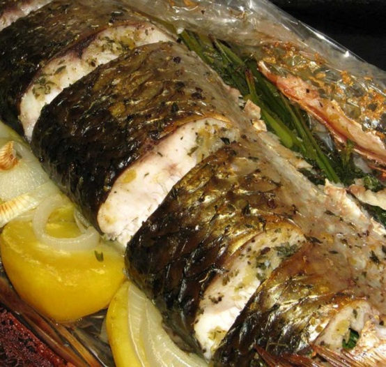 How to cook pelengasa in the oven