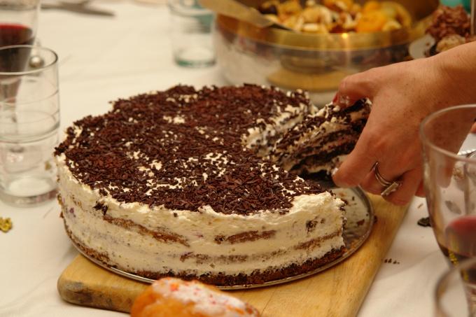"""торт """"Славянка"""""""
