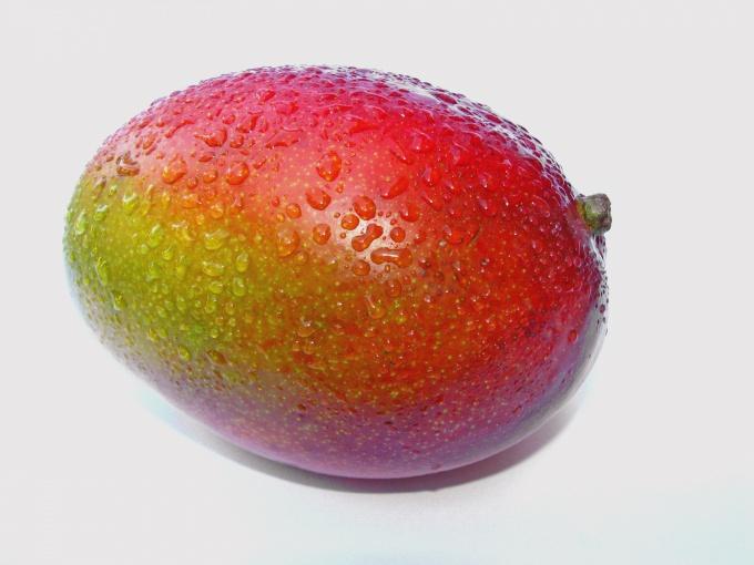 Как определить спелость манго