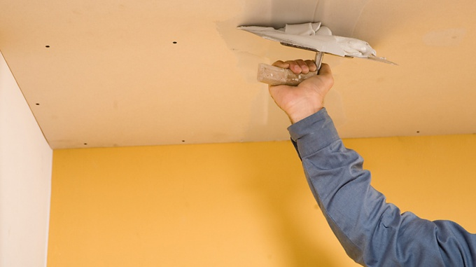How to repair the hole in the ceiling
