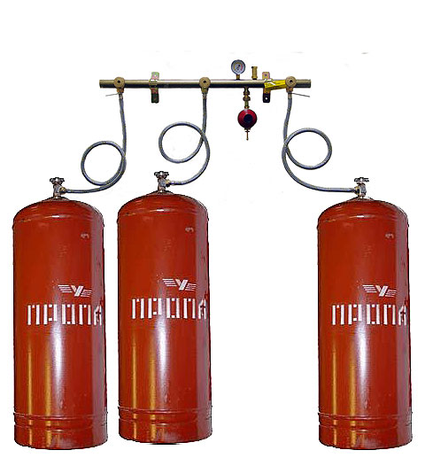 How to connect a gas cylinder